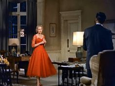 GOLDEN DREAMLAND: Fashion Inspiration: Hitchcock Heroines Edition - Grace Kelly in Dial M for Murder