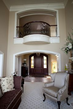 Lakefront Home 004 - traditional - entry - cleveland - Schill Architecture LLC