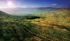 Sperrin Mountains, Co. Derry & Co. Tyrone.