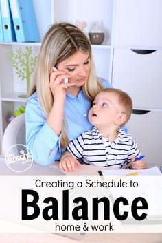 It is hard working from home and managing your family life and blog life. Creating a work from home schedule can help you to find balance and stay organized.