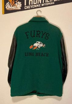 Cool Shirts, Tee Shirts, Aesthetic Clothes, Film Aesthetic, Bowling Shirts, Green Wool, Tee Design, Jacket Style, Bomber Jacket