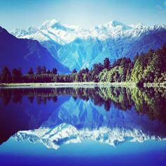 paisaje con efecto espejo #fotografia #foto #paisajes