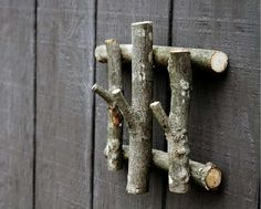 DIY Re-Purposed Tree Limbs