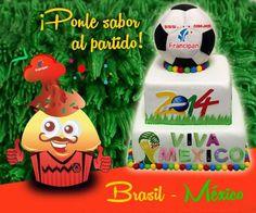Darle creatividad y sabor al juego de México contra Brasil.