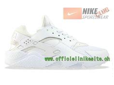 Nike Air Huarache - Chaussure Nike Sportswear Pas Cher Pour Homme Blanc 318429-111