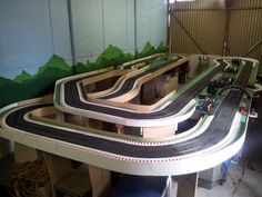 Page 1 of 2 - Gulf View Raceway - posted in Tracks & Scenery: Started this track some time ago but am just getting back into the slot scene.Construction from some years ago.These are all from a couple of years ago. Not much has changed, more to come.