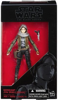 View our latest addition to our website Jyn Erso Star War... here http://dbtoystore.com/products/jyn-erso-star-wars-black-series-rogue-one-6-inch?utm_campaign=social_autopilot&utm_source=pin&utm_medium=pin