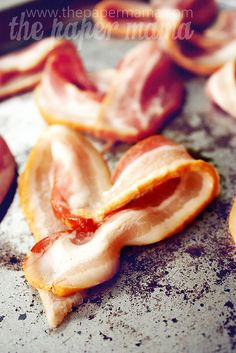 Bacon Hearts for Valentines Day