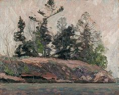'Spring French River' by Canadian Group of Seven painter Tom Thomson via Northern Ontario travel Group Of Seven Artists, Group Of Seven Paintings, Emily Carr, Canadian Painters, Canadian Artists, Landscape Art, Landscape Paintings, Impressionist Paintings, Mini Paintings