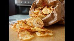 Chips di patatine fatte in casa - Le video ricette di lara