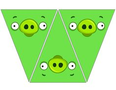 Angry Bird Pig medium banners .... free to use and share <3