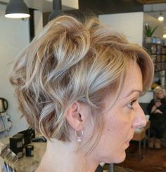Long Wavy Pixie For Fine Hair
