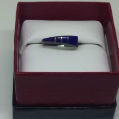 Check out this item in my Etsy shop https://www.etsy.com/listing/507194286/sterling-lapis-ring