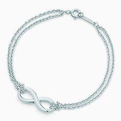 Tiffany Infinity bracelet in sterling silver, large.
