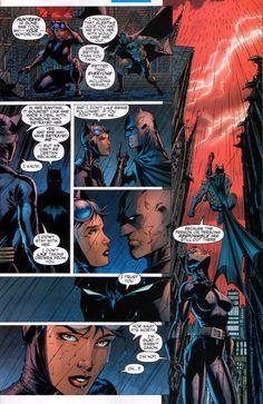 Batman page 15 Nightwing, Batgirl, Catwoman Y Batman, Batman Hush, Batman And Superman, Comic Book Characters, Comic Character, Comic Books Art, Comic Art