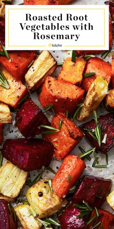 Vegetarian Recipes, Cooking Recipes, Healthy Recipes, Roasted Root Vegetables, Roasted Vegetable Recipes, Best Veggies To Roast, Simple Vegetable Recipes, Roasted Vegetables Thanksgiving, Veggie Recipes Sides