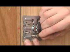 Como se instala cerrojo Lince Supra key - YouTube