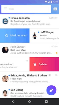 Yahoo Mail app lets you customize your inbox swipes  Yahoo debuted a new Mail app back in the fall and today the mobile software is getting a few new features. First both the Android and iOS versions will allow you to customize your swipes. This means that when youre looking at your inbox you can opt to swipe right to archive or swipe left to mark as spam. Other actions include starring a message and marking it as read. When using a long press to select multiple messages you can now star a…