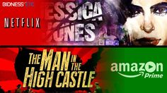 The Man In High Castle Takes On #JessicaJones #Amazon Challenges #Netflix For Streaming Throne