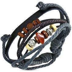 Nastavitelný náramek, vyrobený z pravé kůže Bracelets, Leather, Jewelry, Fashion, Moda, Jewlery, Bijoux, Fashion Styles, Schmuck