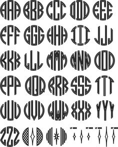 Get most awesome other font resource and also other font example such as cricut monogram fonts free, free script monogram fonts, script initials font, and more on this page Monogram Template, Free Monogram, Monogram Alphabet, Circle Monogram, Monogram Design, Monogram Fonts, Logo Design, Font Alphabet, Circle Font