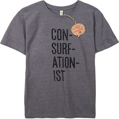 The Consurfationist tee | Surfers Against Sewage