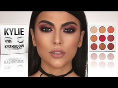 Kylie jenner makeup – Hair and beauty tips, tricks and tutorials Kylie Jenner Makeup Natural, Kylie Jenner Makeup Tutorial, Natural Eye Makeup, Natural Eyes, Kylie Makeup, Makeup Shayla, Kylie Jenner Burgundy Palette, Kylie Palette, Burgundy Makeup