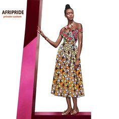 17 vestido Africano para as mulheres femme roupas da moda sexy lady baixo strapless vestido de festa africano impressão de cera de algodão plus size