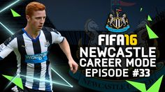 FIFA 16 | Newcastle Career Mode #33 - TYNE-WEAR DERBY IS BACK!!!