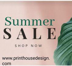 www.printhousedesign.com Summer Sale, Shop Now, Social Media, Shopping, Social Networks, Social Media Tips