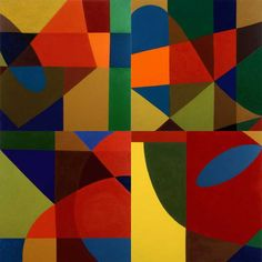 Can be joined any way Artist: Harriet Korman Completion Date: 2002 Style: Post-Painterly Abstraction Genre: abstract