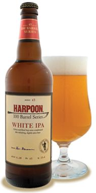 Harpoon White IPA. Not the smoothest but that's its appeal.