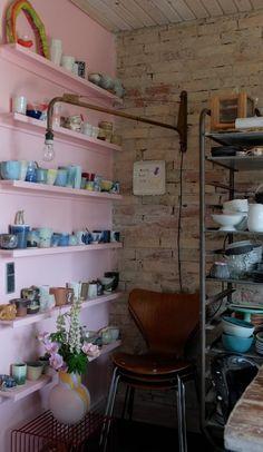 Interior Shop, Interior And Exterior, Interior Design, Kitchen Nook, Shop Interiors, House Party, Decoration, Copenhagen, Studios