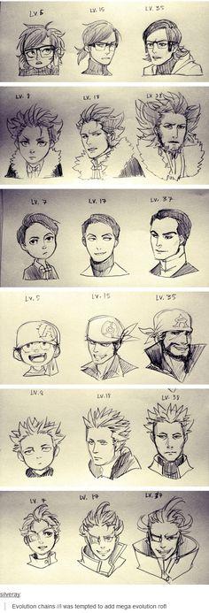 Evolution of Villainous Team Leaders