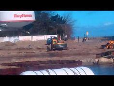 Budowa Kanału Rybackiego - Ustka