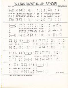 Kumpulan Lagu Paduan Suara Gereja (Hidayat Maruta): KU TAK DAPAT JALAN SENDIRI, Albert E. Brumley, Teks: K. P. Nugroho
