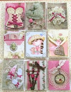 Shabby Chic PL made by Judy Thompson