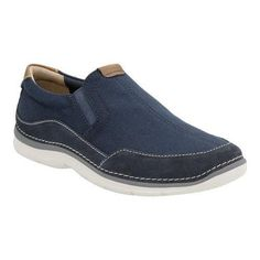 Men's Clarks Ripton Free Slip-On Canvas (US Men's 7 M (Regular))