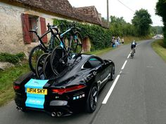 Team sky's new support car