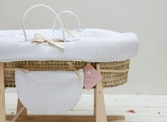 Moises de mimbre para bebés, Cucosbaby - Mamidecora
