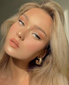 Makeup Eye Looks, Eye Makeup Art, Natural Makeup Looks, Cute Makeup, Pretty Makeup, Simple Makeup, Skin Makeup, Beauty Makeup, Hair Beauty