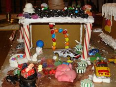 White Trash Gingerbread House
