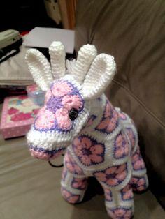 Heidi bears giraffe