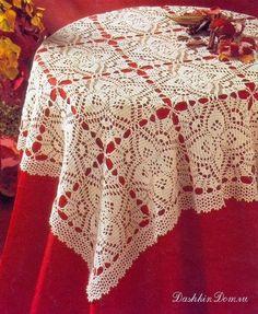 Irish crochet &: Скатерти и салфетки