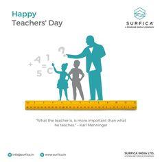 """What the teacher is, is more important than what he teaches."" – Karl Meninger Happy Teachers' Day..! #Surfica #Surficalam #Laminates #laminate #laminatescollection #LaminatesDesign #BestLaminates #LuxuryLaminates #LaminateCollection #LaminateSheet #HappyTeachersDay #5September #Learning #Teachersday #Teachersday2021"