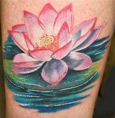 Image Search Results for water lily tattoos