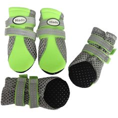 Hiado Dog Shoe Boots with Non-slip Soft Sole, Mesh and Velcro for Small Dogs *** Click image to review more details. (This is an affiliate link and I receive a commission for the sales)