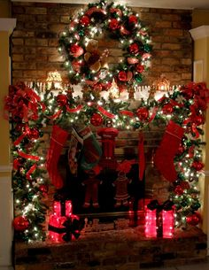 How will you choose to decorate your fireplace this holiday season?