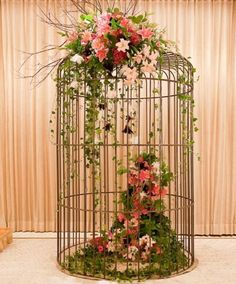 Ana Rosa - Wedding Bird Cage ~