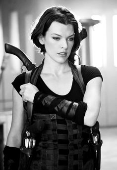 "Milla Jovovich in ""Resident Evil: Afterlife,"" this is my favorite series of movies that Milla is in! Milla Jovovich, Resident Evil 2002, Alice Resident Evil, Resident Evil Cosplay, Film Science Fiction, Constantin Film, Actrices Hollywood, Badass Women, Belle Photo"